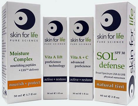 skin for life products