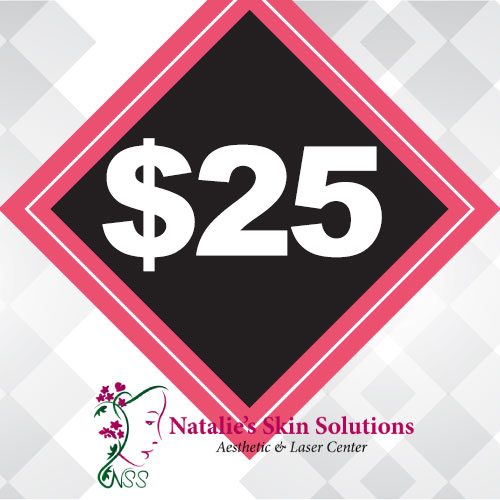 $25 Natalies Skin Solutions Gift Certificate